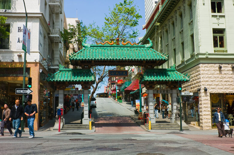 China Town: district with reasonably priced for a stay in San Francisco