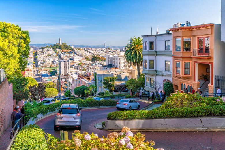 Russian Hill:  historic district, you can enjoy staying in San Francisco