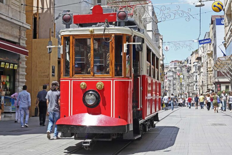 Where to stay in Istanbul: Beyoglu district