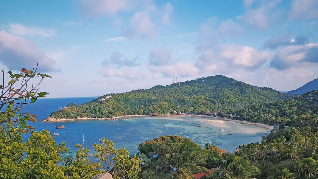 Where to stay in Koh Tao: Chalok Bay