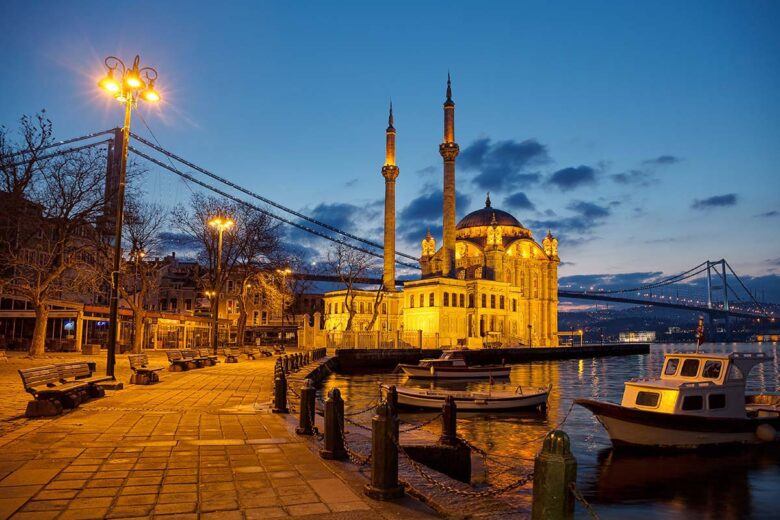 Nice places to stay in Istanbul: Besiktas and Ortakoy