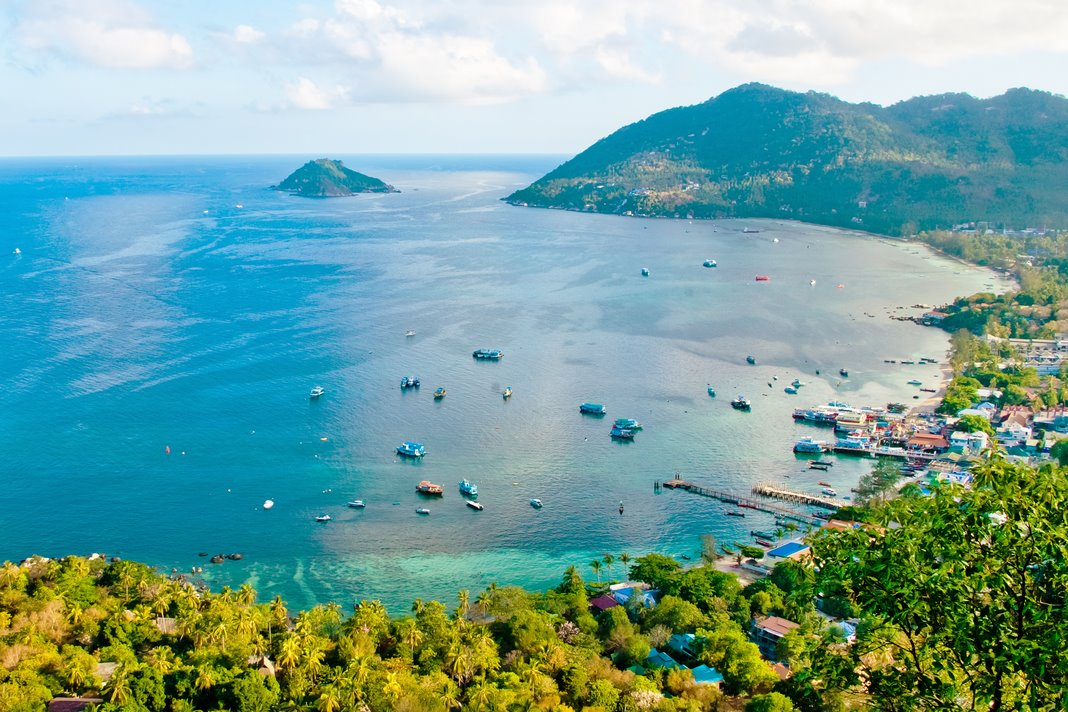 Where to stay in Koh Tao: Mae Haad