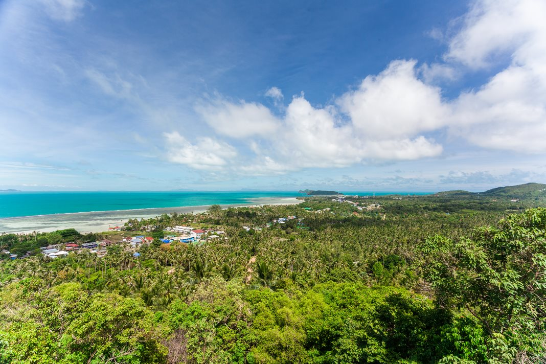 Best area to stay in Koh Phangan: Baan Tai