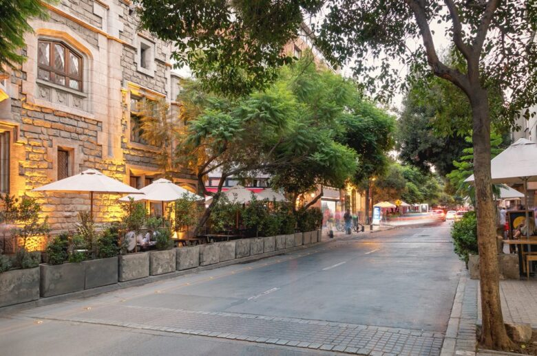 Where to stay in Santiago de Chile: Lastarria