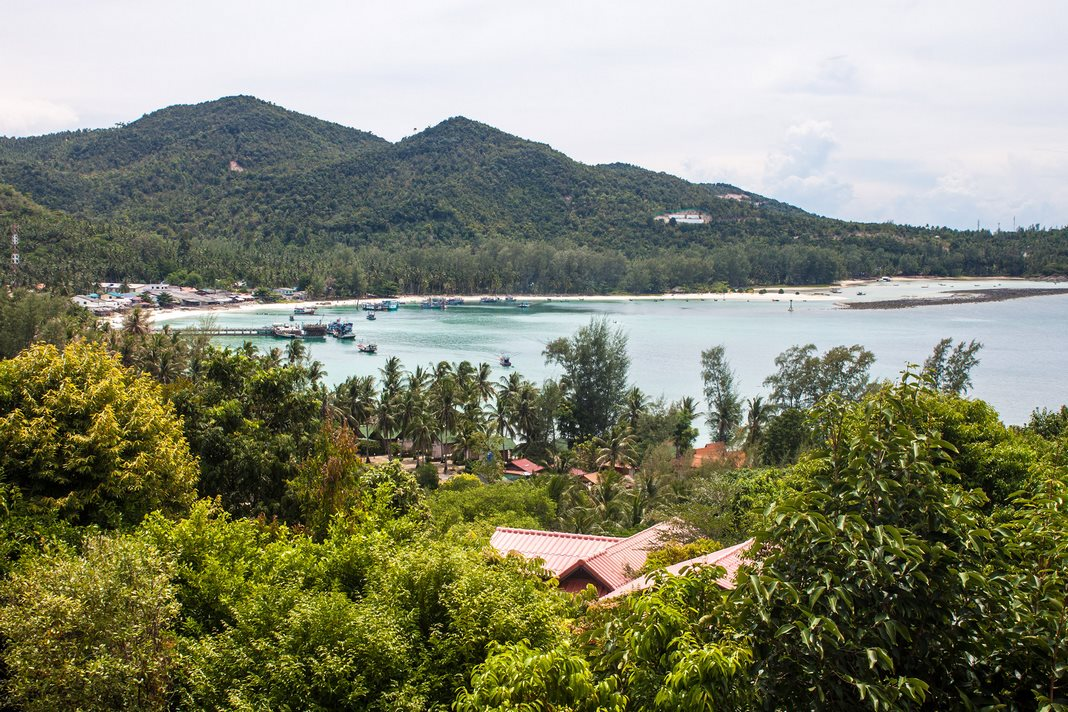 Where to stay in Phangan: Chalok Lam