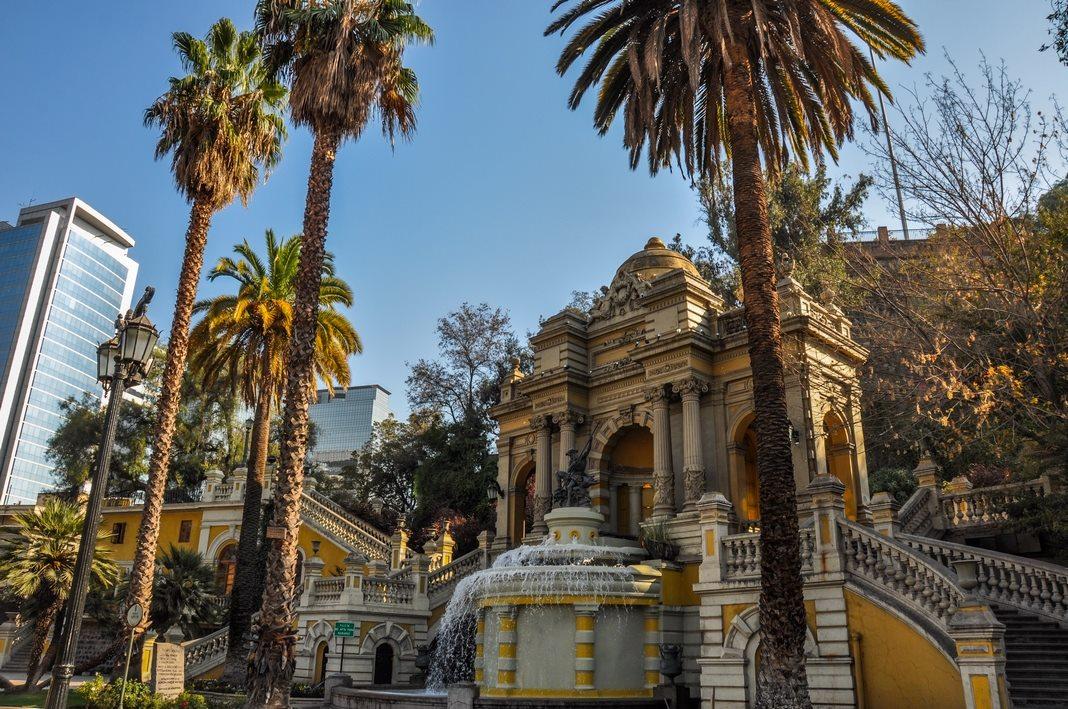 Best neighborhoods to stay in Santiago de Chile: Bellas Artes