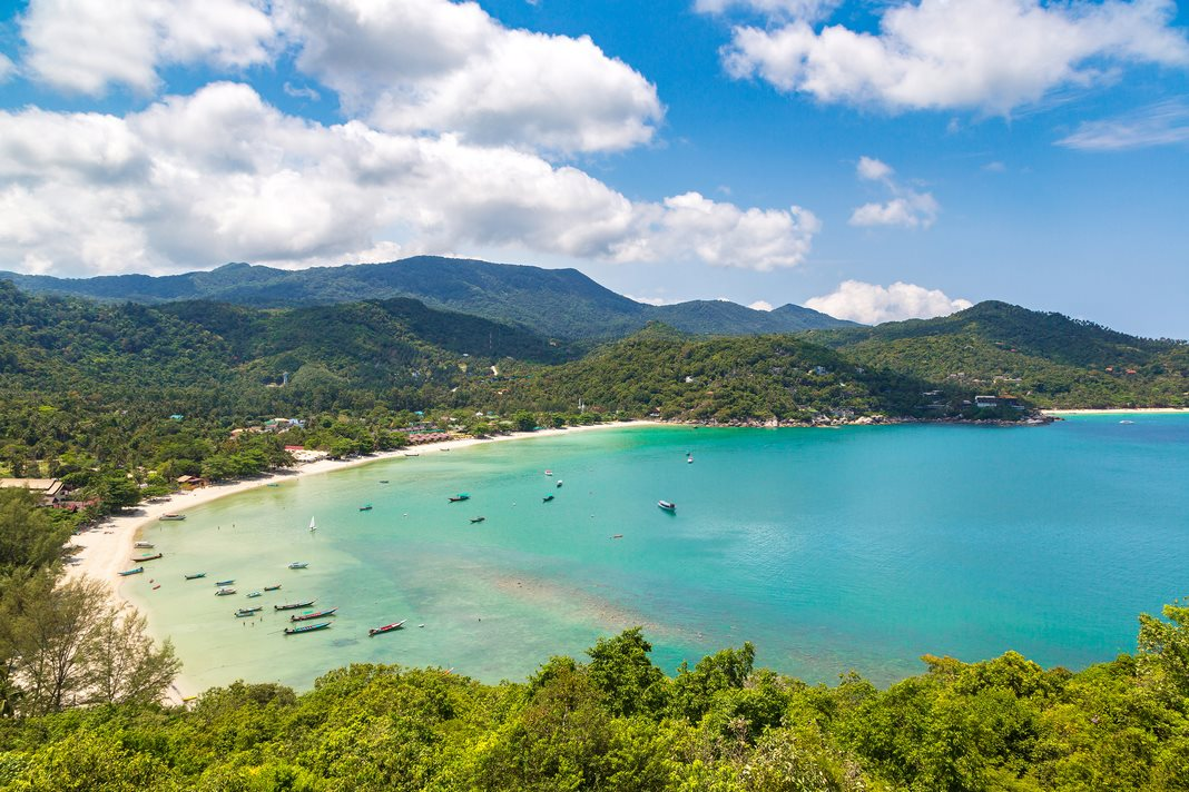Best areas to stay in Phangan: Thong Nai Pan