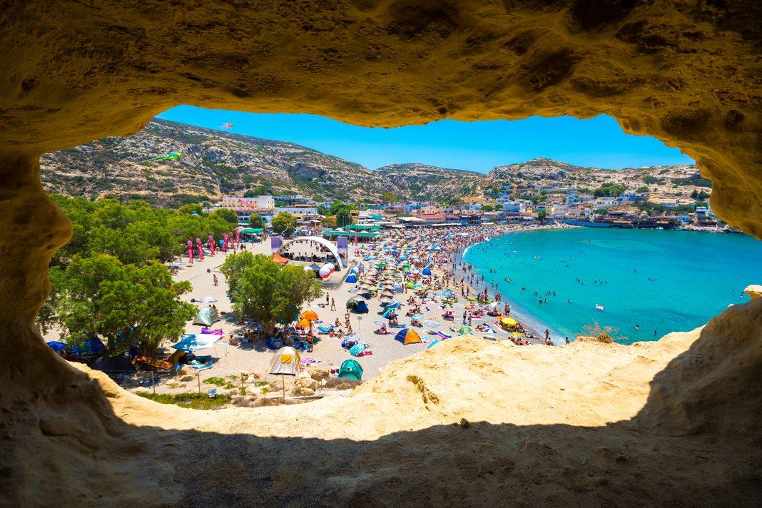 Accomodation in Crete: Matala