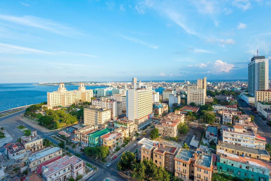 Havana neighborhoods: El Vedado