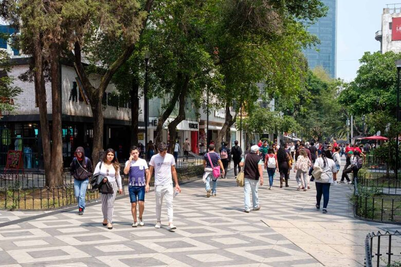 Zona Rosa one of the best place for you to stay in Mexico City