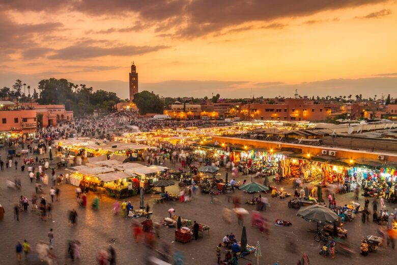 Best areas to stay in Marrakech: Medina