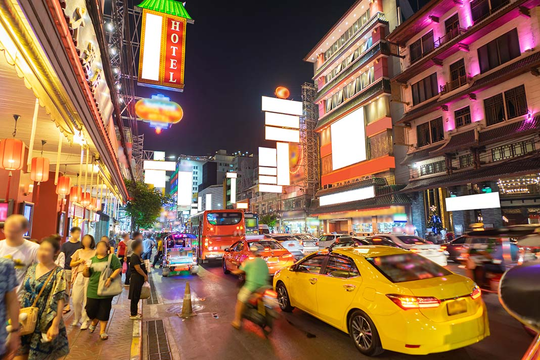 Where to stay in Bangkok: Chinatown