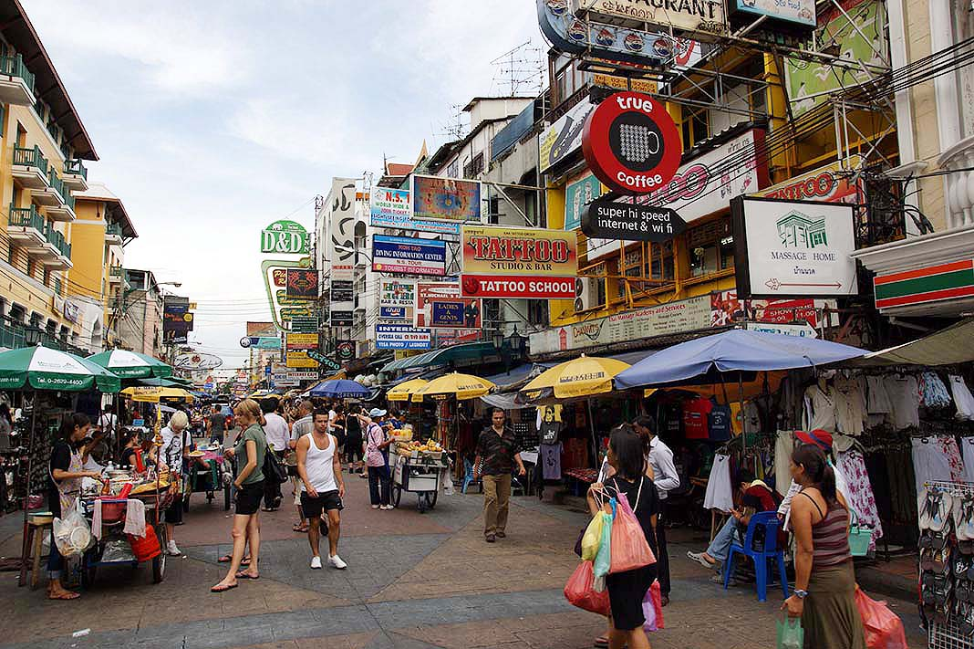 Khao San Road: The most famous places to stay in Bangkok