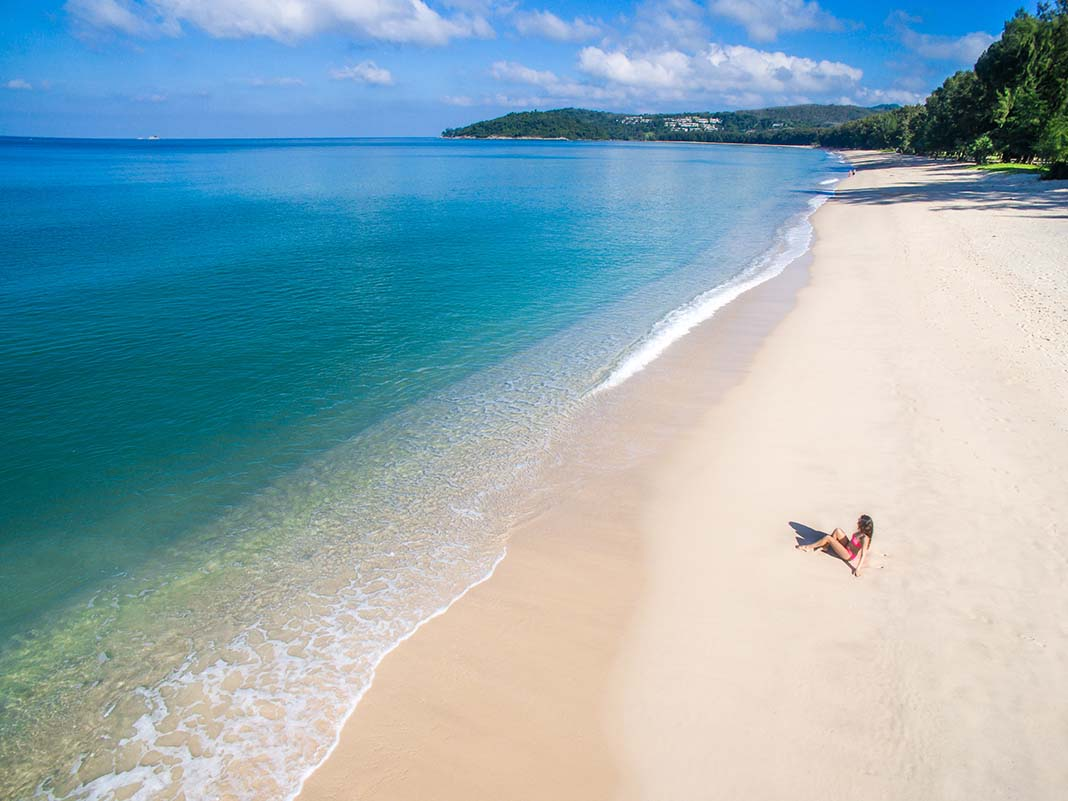 Best areas in Phuket: Bangthao Beach