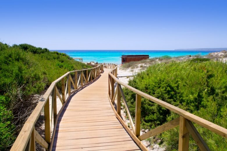Where to stay in Formentera: Es Arenals