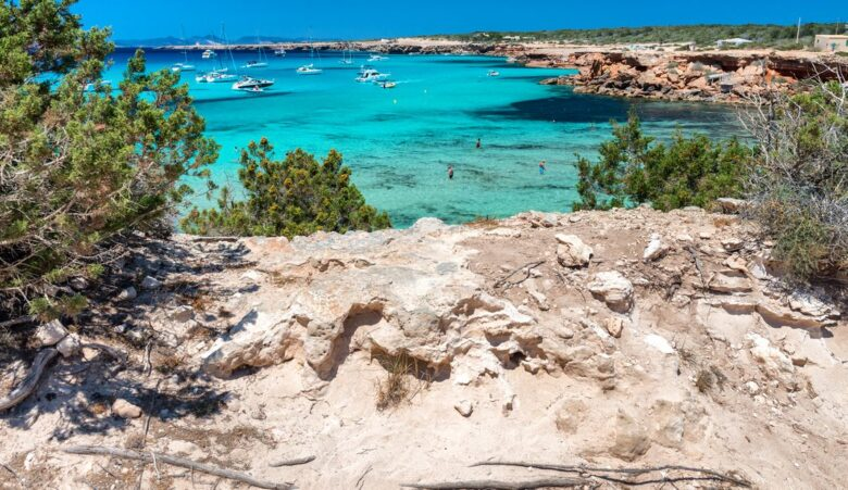 Where to stay in Formentera: Cala Saona