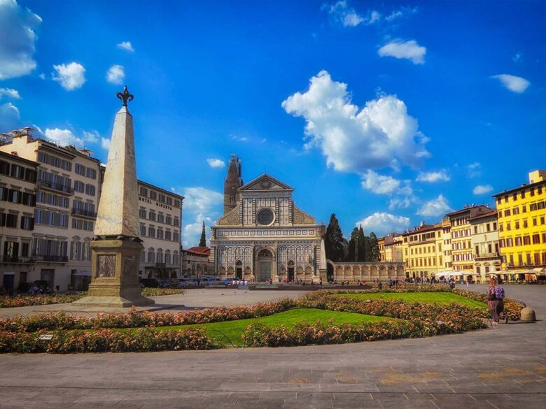 The area of Sana Maria Novella to stay in Florence