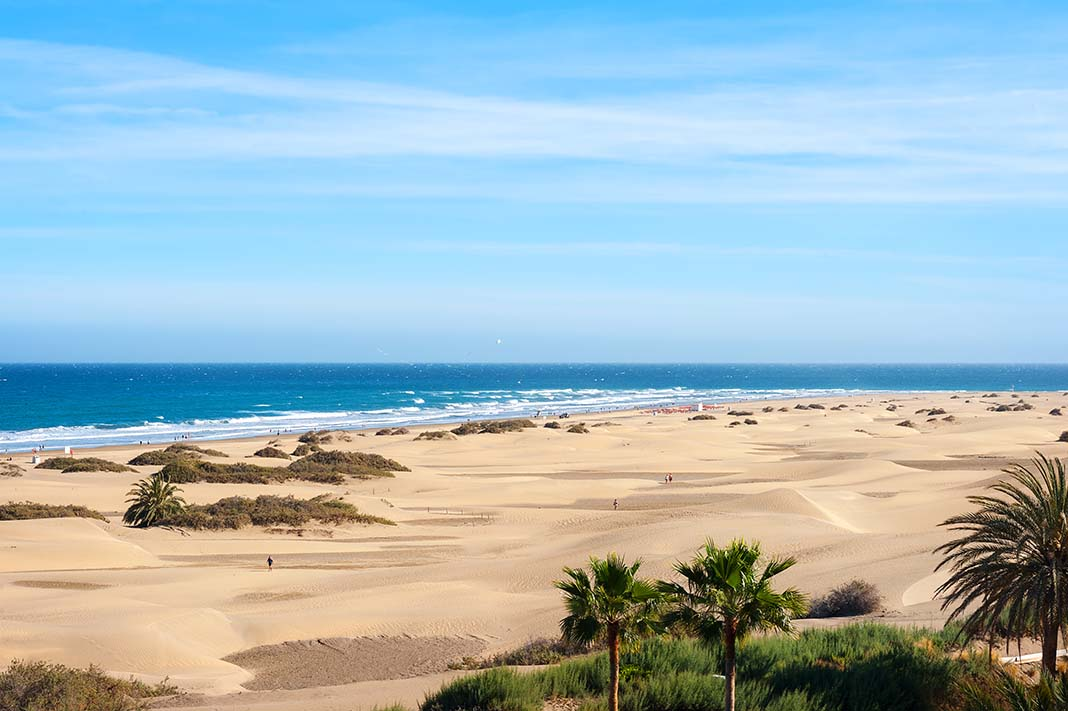 Where to stay in Gran Canaria: Maspalomas, the most family centered