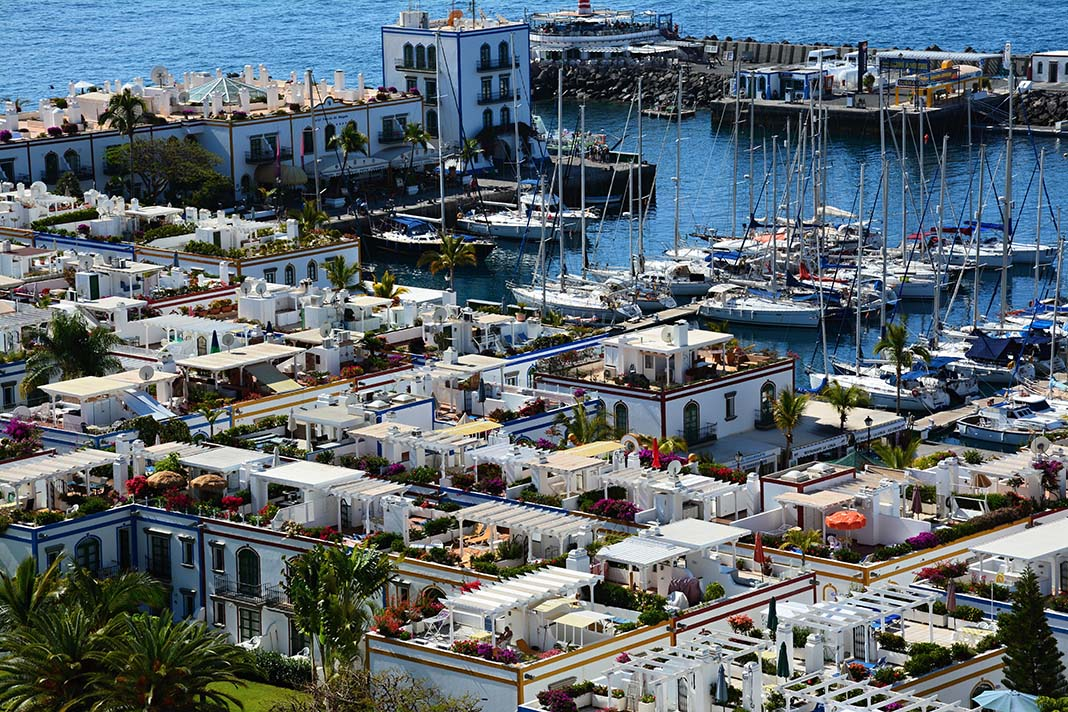 Stay in Puerto del Mogán: is lovingly referred to as Gran Canaria's Little Venice