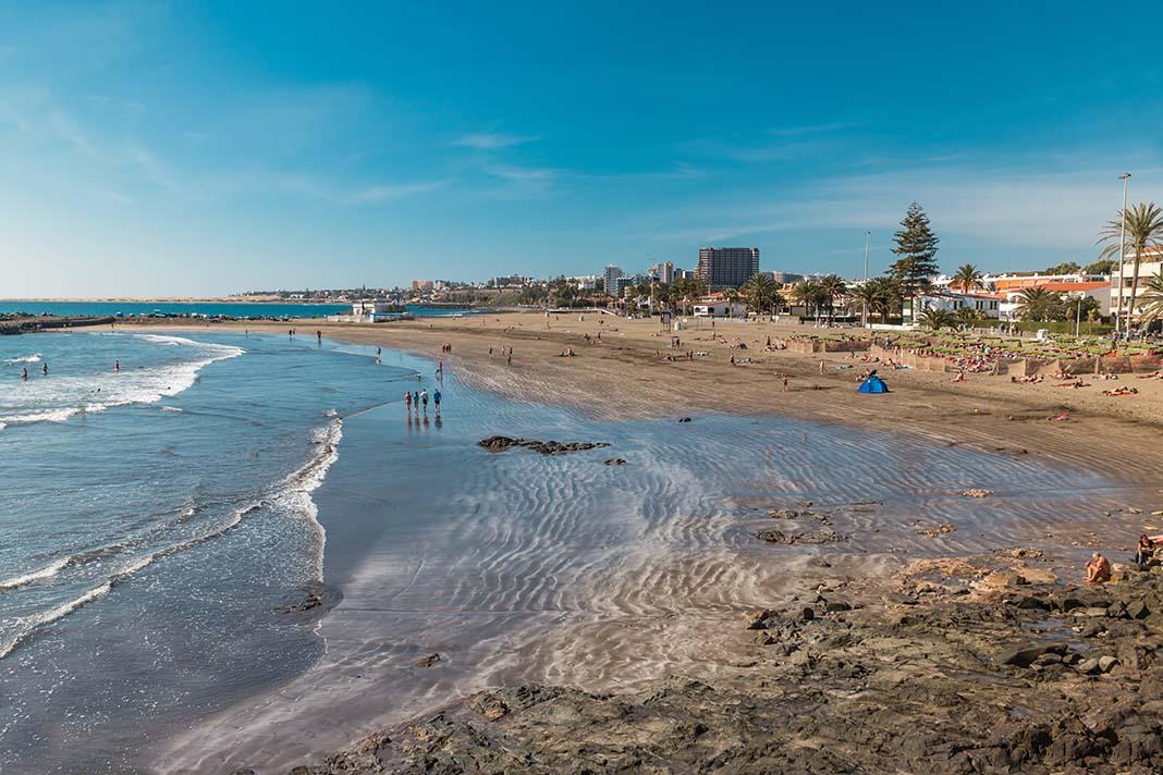 Where to stay in San Agustín: a town whit calmer beach in Gran Canaria