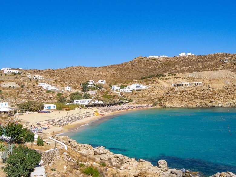 Stay in Mykonos: Paradise and Super Paradise Beach