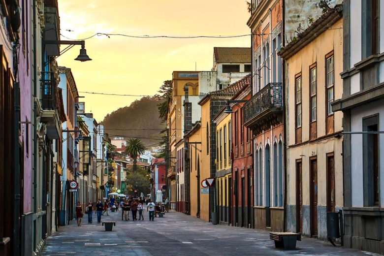 La Laguna is one of the most beautiful town in all Tenerife.