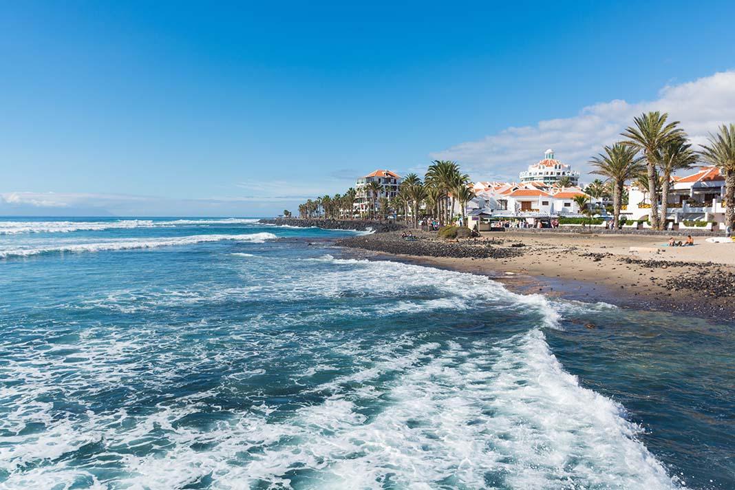 To stay in Tenerife: Playa de las Américas