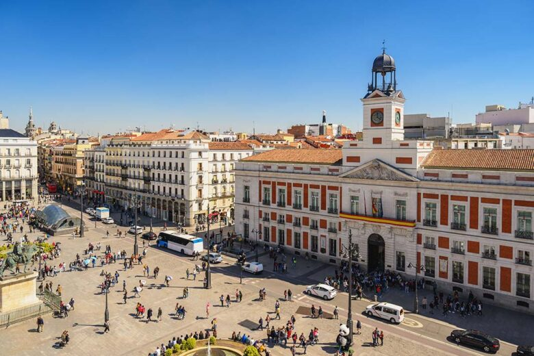 Of all the areas to stay in Madrid, Sol is the one with the highest concentration of hotels