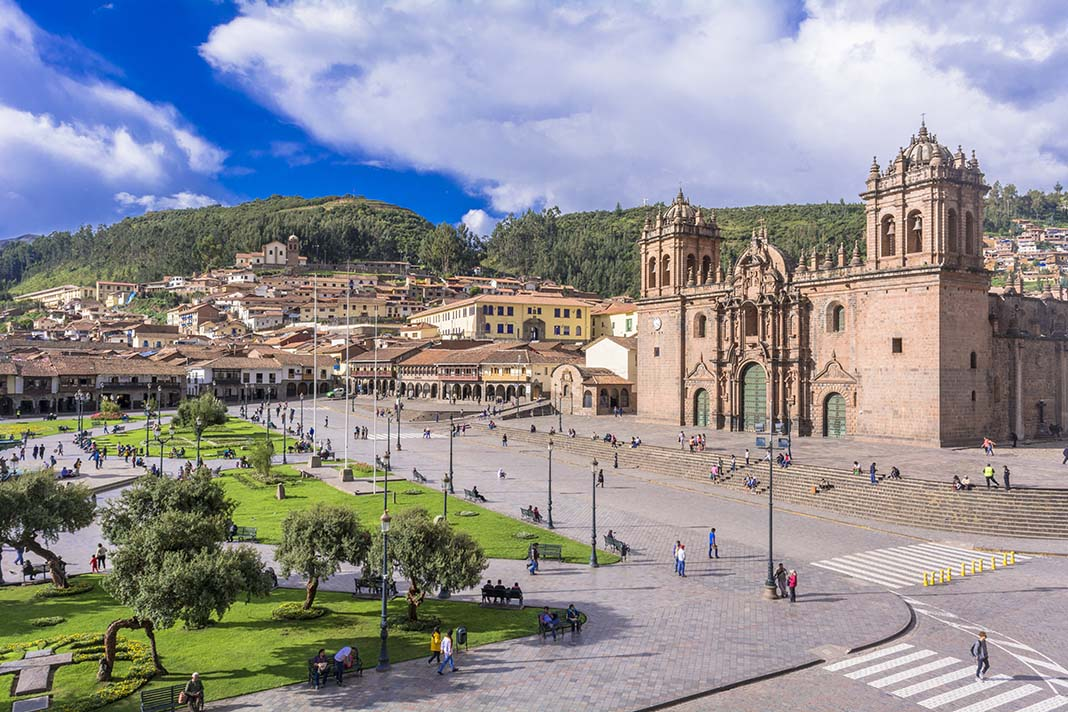 Visit to Plaza de Armas to do in Cusco