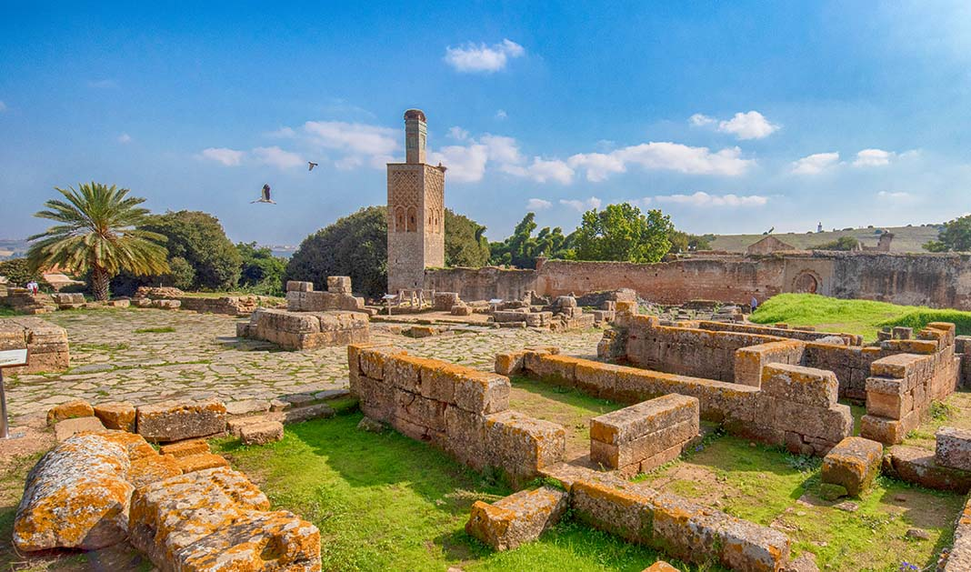 Explore the ancient ruins to do in Rabat: Chellah