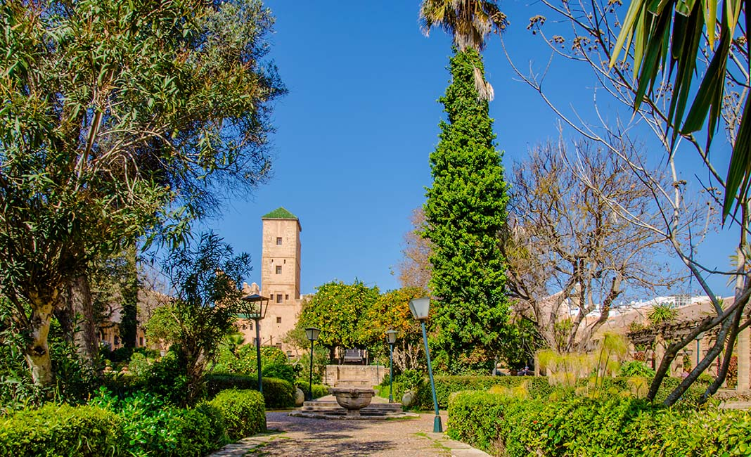 What to do in Rabat: Visit Andalusian Garden
