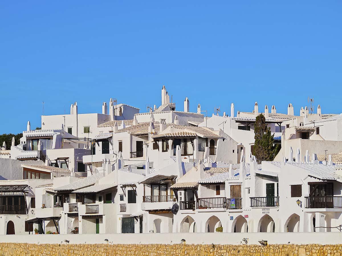 Visit the Binibeca (Binibèquer) village in Menorca