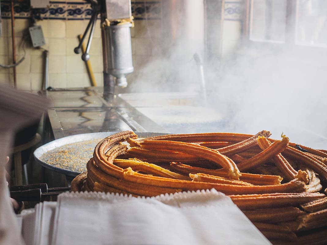 Indulge in Churros at El Moro in Mexico City