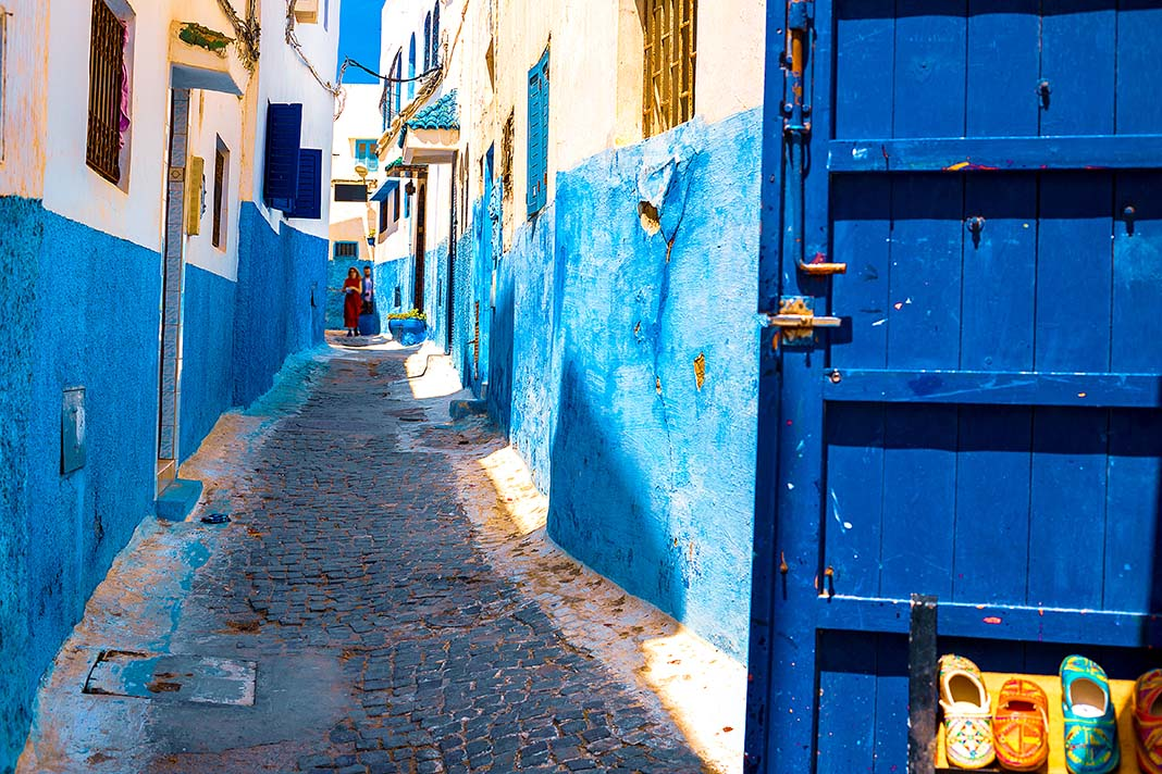 The most interesting things to do in Rabat:Wander the Ancient Kasbah des Oudaias
