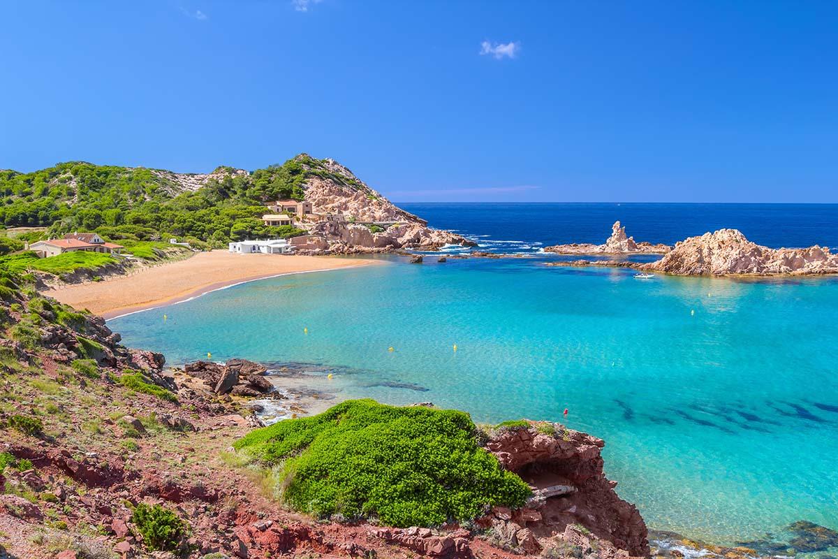 Spend a day in Cala Pregonda to do in Menorca