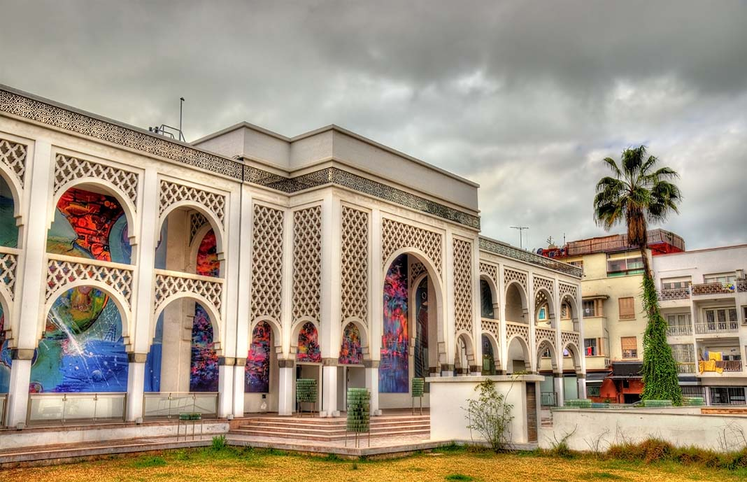 One of the top attractions to see in Rabat: Mohammed VI Museum of Modern & Contemporary Art