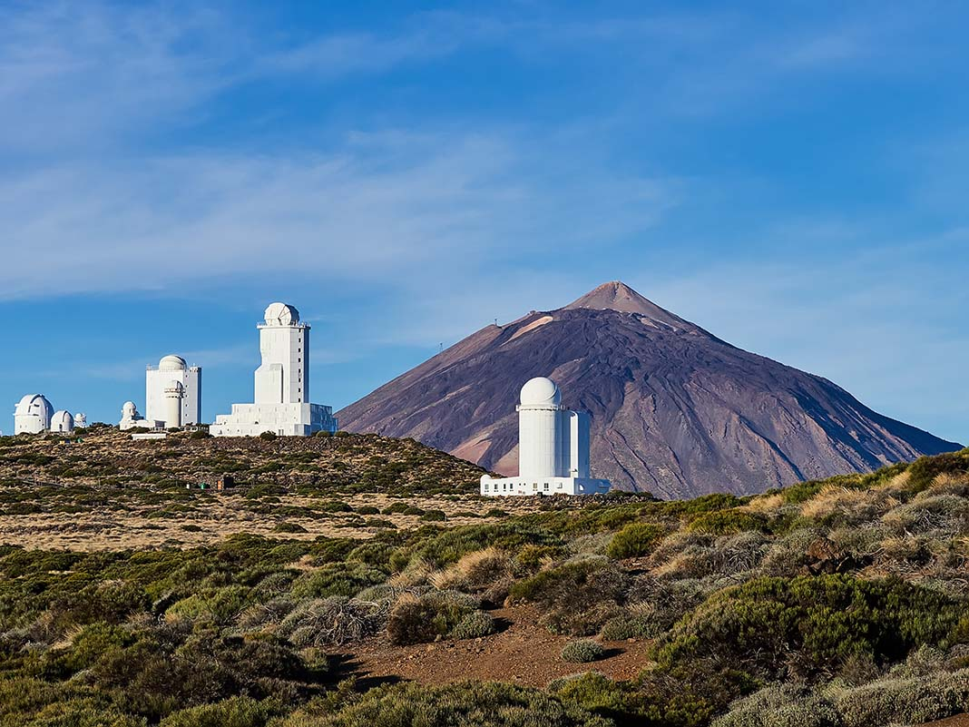 Things to see in Tenerife, do not forget the Mt. Teide Observatory