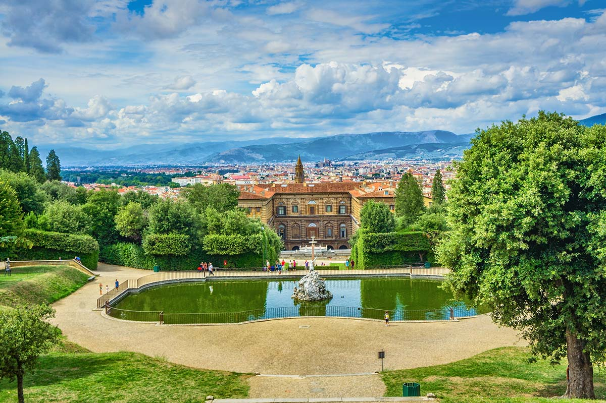 A tour of the Boboli Gardens to do in Florence