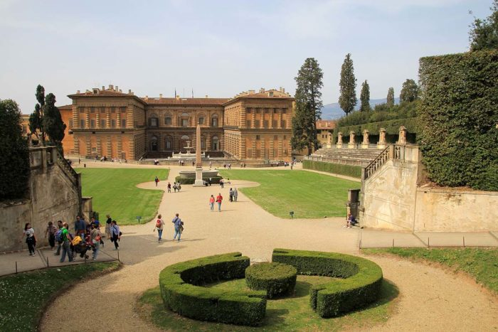 Visit Palazzo Pitti: It stands today as Florence's largest museum complex.