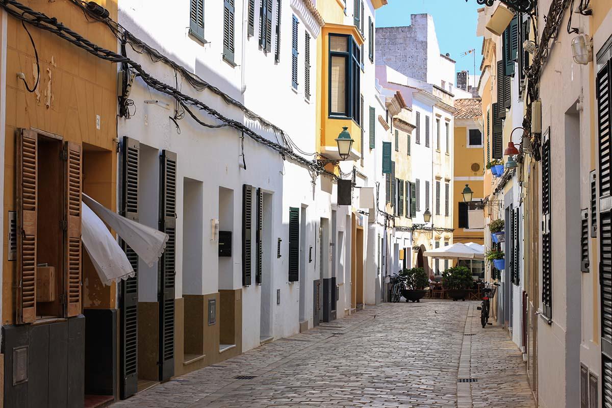 Walk around Ciutadella streets to do in Menorca