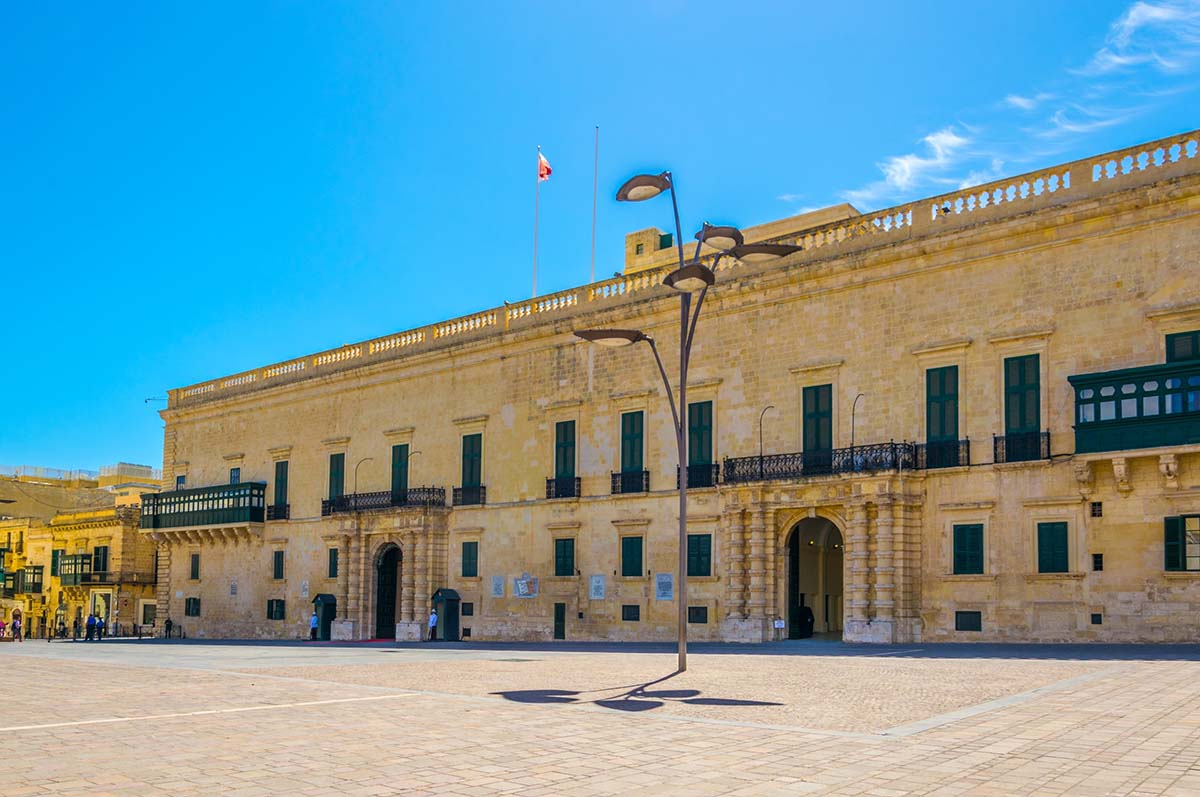 Visit in Malta: The Palace Grand Master
