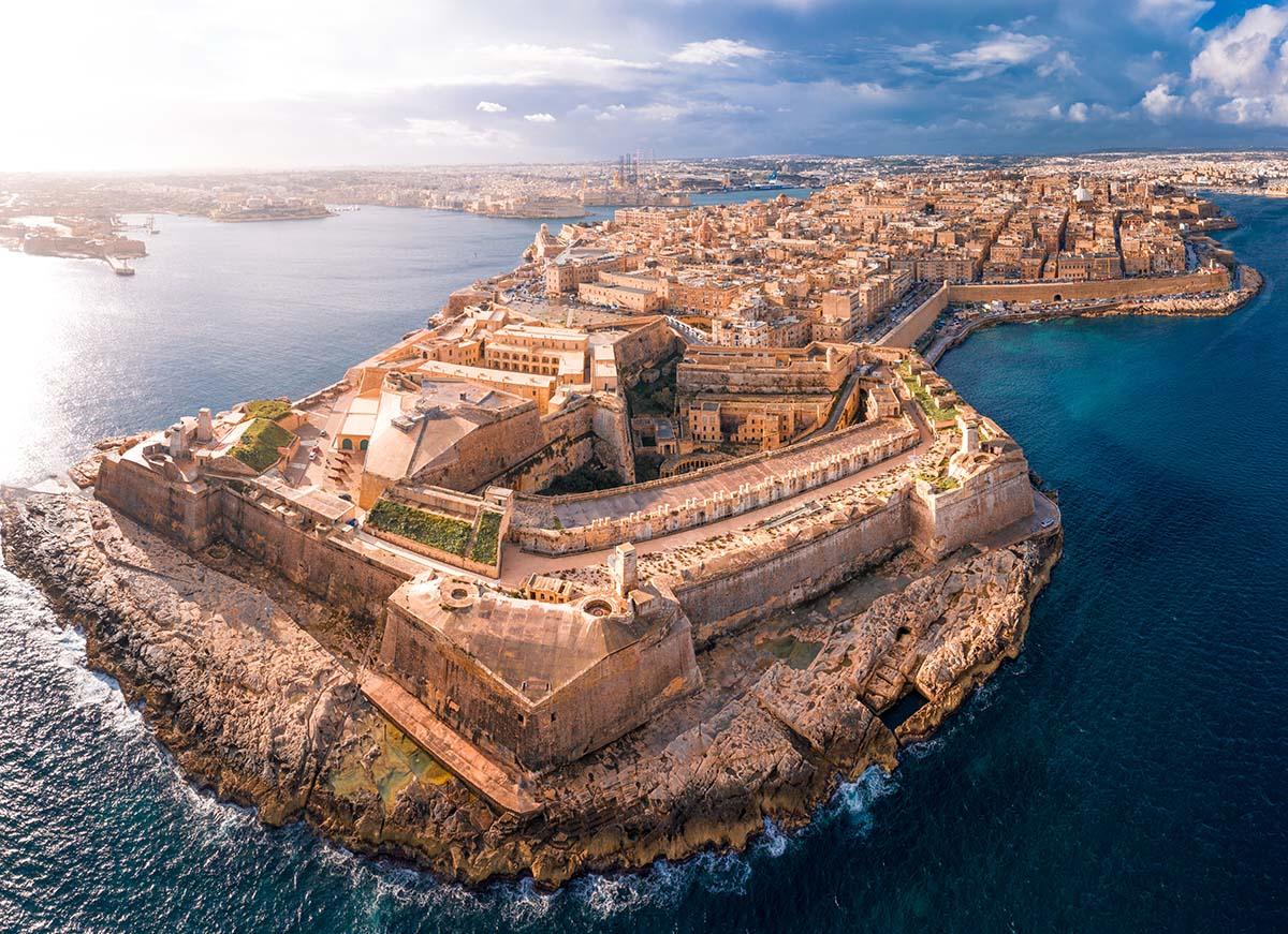 Visit in Malta: Fort St. Elmo