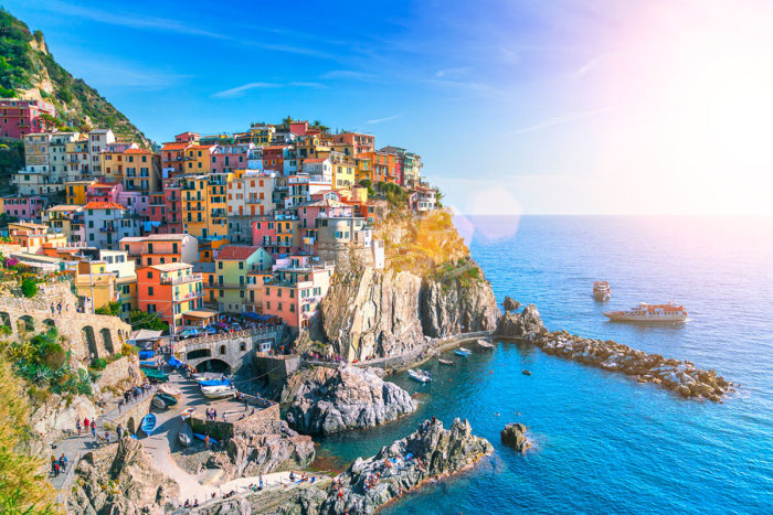 Manarola one of the best towns to stay in Cinque Terre