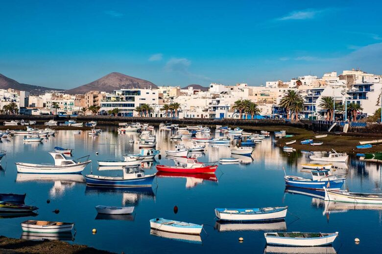 The port city of Arrecife is the capital of Lanzarote, one of the best areas to stay