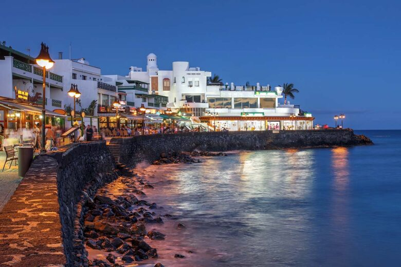 Playa Blanca, best loved sites on Lanzarote