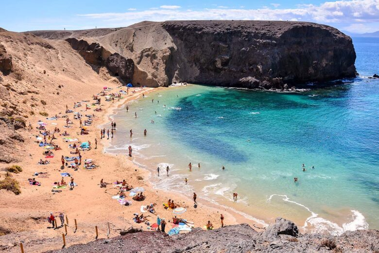 Where to stay in Lanzarote: Playa Famara, peaceful and picturesque