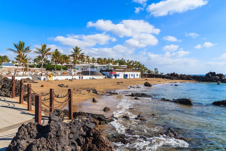 One of the most tourist crowded places on Lanzarote is Puerto del Carmen