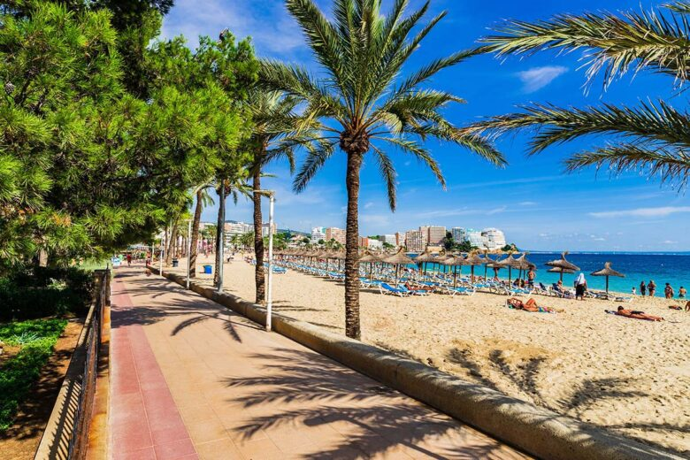 Where to stay in Mallorca:Magaluf boasts a very vibrant nightlife