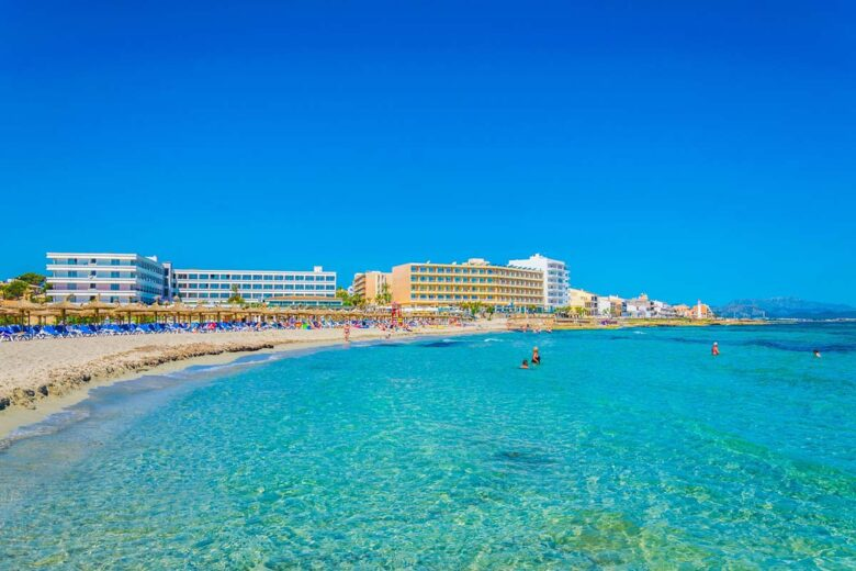 Can Picafort is probably the best deal in terms of Mallorca lodging