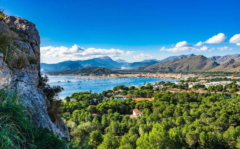 Puerto Pollensa a great starting point for travelers to stay in Mallorca